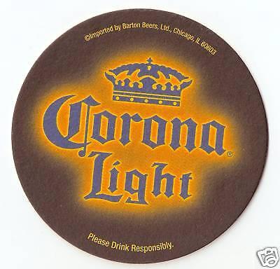 16 Corona Light  Beer / Bar Coasters  Halloween - Halloween Bar Themes