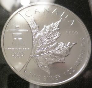 Canadian Silver Maple Leaf Coin