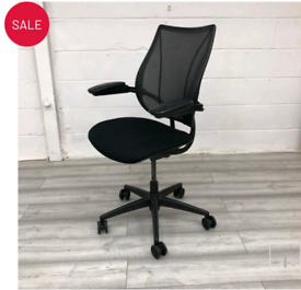 Humanscale Liberty Mesh chair with adjustable arm rest