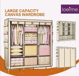 Large Fabric wardrobe