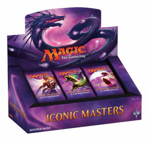 Magic the Gathering Iconic Masters Booster BOX  $ 249.99