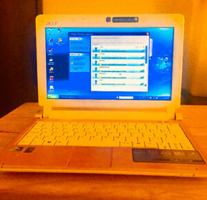 Acer Pink Aspire One Mini Laptop PC Netbook $125 OBO