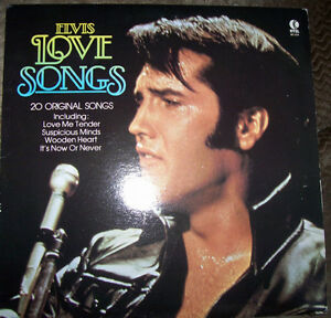 ELVIS-LOVE SONGS (1980) Vinyl LP
