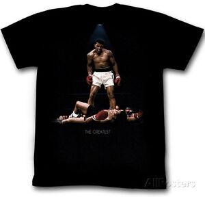 Muhammad Ali - Over Again Apparel T-Shirt XL - Black