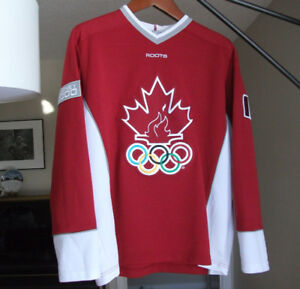 Roots Hockey Jersey Canada Olympic Team 2000 Sydney Olympics