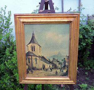 VINTAGE PRINT -- MILAN -- FRAMED/WINDOW INTO THE PAST/1800s? London Ontario image 2