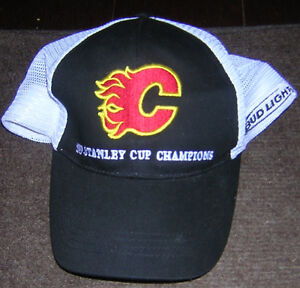 1989 STANLEY CUP CHAMPIONS HAT GREAT FOR DISPLAY