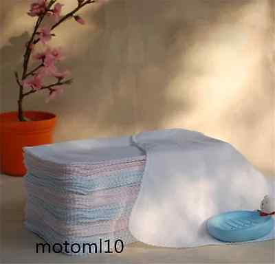 10x Face Facial Cleansing Muslin Cloth Towel Cleaning Makeup Dirt Removal New US