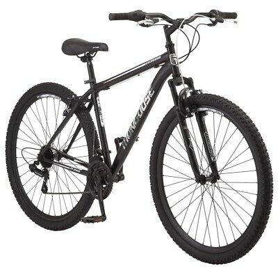 Mountain Bike Mens 21 Speed Rugged Off Road Tires 29 Inch Bicycle Lrg Steel New