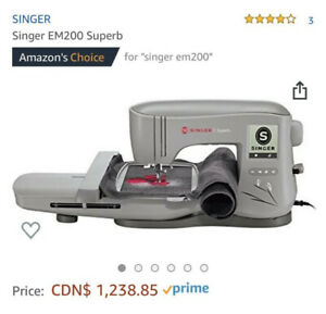 Singer EM200 Superb Sewing Machine
