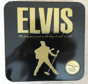 Elvis Collector's Gift Set NEW - includes book and coasters