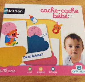 Nathan cache-cache bébé