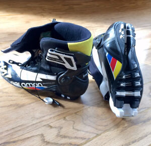 Youth Salomon Skiathlon Nordic Combi ski boot