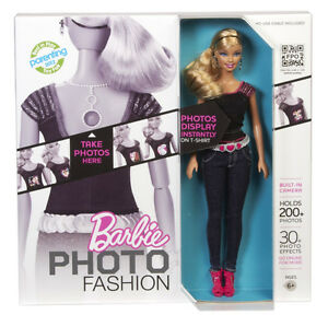 Barbie Photo Fashion Camera Doll