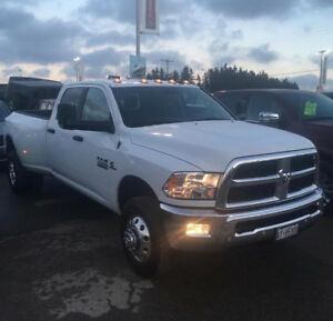 2018 ram 3500 dually with 9.6' western v-blade
