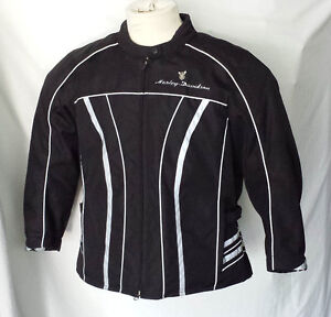 Manteau Harley Davidson, coquilles protectrices Femme XLarge 85$