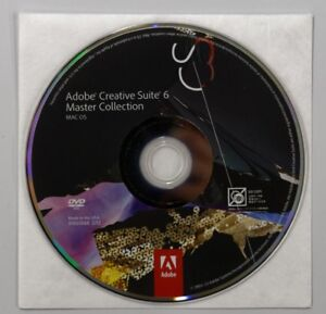 Adobe Creative Suite 6 (CS6) Master Collection (Win or Mac)