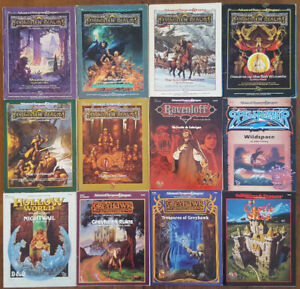 DUNGEONS & DRAGONS 2ND EDITION MODULES