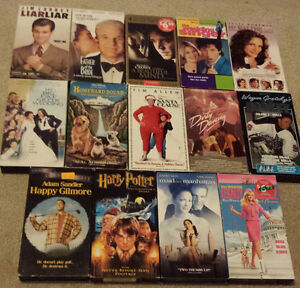 Assoreted VHS movies!