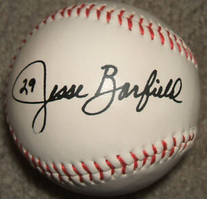 Jesse Barfield (ex-Blue Jay & Tokyo Giant) autographed baseball