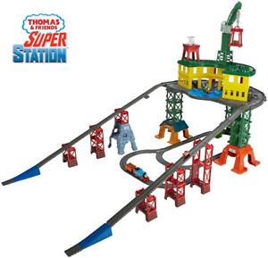 Fisher-Price Thomas & Friends Super Station Playset Train Toy