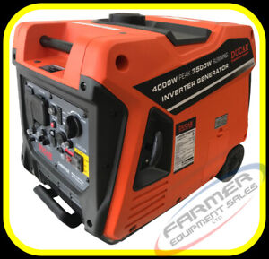 4000 watt INVERTER GENERATOR, super quiet, ELEC. START -IN STOCK