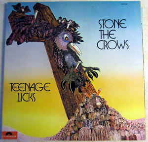 Stone The Crows – Teenage Licks Vinyl LP