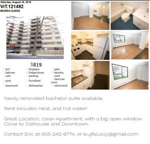 Bachelor Apartment Close to Downtown!