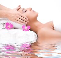 Threading facial waxing Brazilian body wraps massage