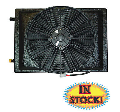 "Vintage Air Remote A/C Condenser 12"" Skewed Blade Fan - 20""x 12"" - 03500-OVA"