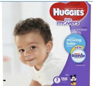Huggies Little Movers Diapers - Size 3