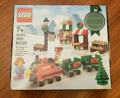 NEW Lego Holiday Building Set Christmas Train Ride #40262 169 Pieces #OB20