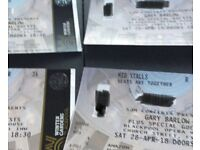 Gary Barlow Tickets x 4