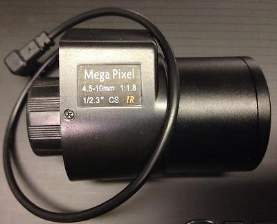 10 Mega Pixel CS Mount DC IRIS HD Lens 4.5-10mm for Basler BIP2-1920c-2500c ()