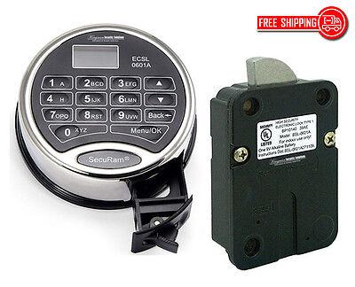 Securam L22-ii Keypad Lock Kit-time Delay Super Code 30 Users Audit Duress