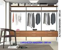 Cabina Armadio Larghezza Minima : Cabine armadio annunci in tutta italia kijiji annunci di ebay