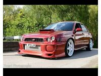 Subaru Impreza V7 WRX bugeye modified one off