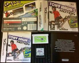 DS TONY HAWK MOTION GAME + MOTION PACK BOXED with Booklet