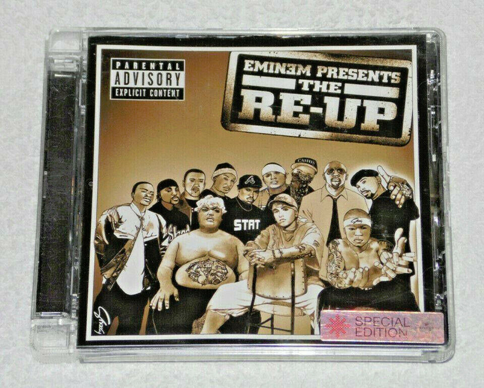 MUSIC CD ALBUM EMINEM PRESENTS THE RE-UP 23 TRACKS SPECIAL EDITION PUBLIC  ENEMY  | in Lewisham, London | Gumtree