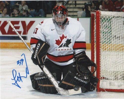 Team Canada Jeff Glass Signed Autographed 8x10 Photo COA A