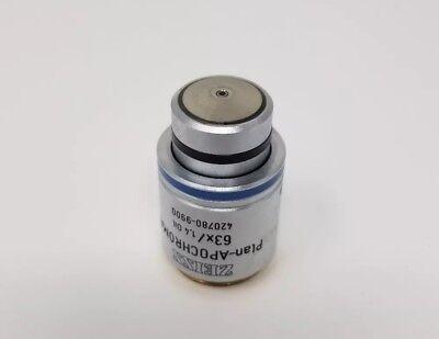 Zeiss Microscope Plan Apo 63x Oil 420780-9900