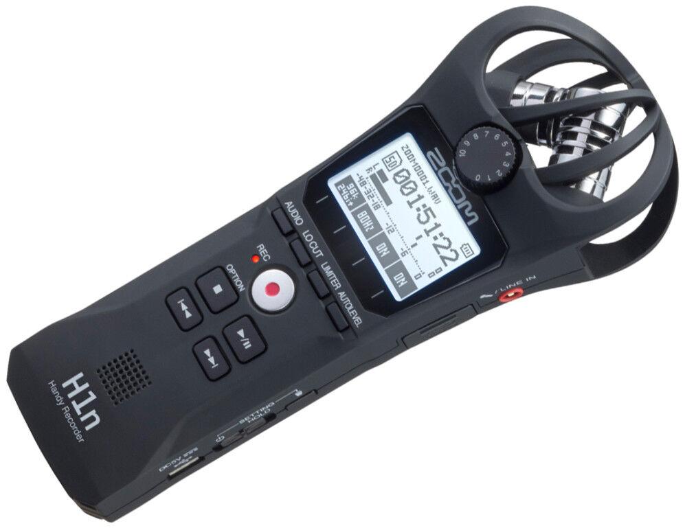 Zoom H1n black   Kompakter Handy-Recorder   Neu, 3 Jahre Garantie!