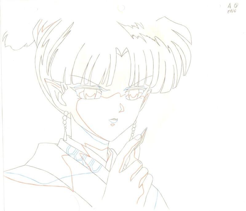 Anime Douga not Cel Inuyasha #107