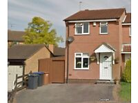 FOR SALE 2 bedroom semi-detached house, cul-de-sac in groby