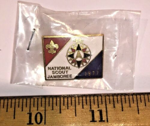 Official Pin for the 1977 National Boy Scout Jamboree Mint