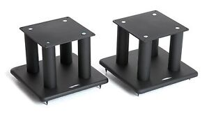 Atacama SL200i Speaker Stands Satin Black (Pair)