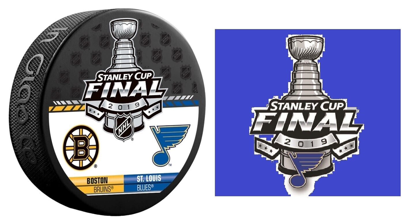 2019 Nhl Stanley Cup Final Puck St Louis Blues Sticker Dueling
