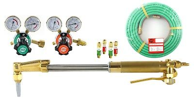 Sa 18 Heavy Duty Cutting Torch Set Compatible With Harris 25 Hose Propane