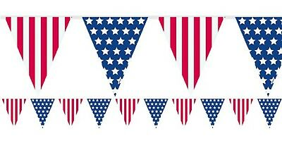 Amerikanischer Fahne USA Independence Day 4. July Party Wimpel Banner Dekoration