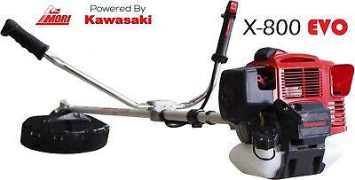 Desbrozadora Kawasaki TJ45E con barra Mori X-800 EVOLUTION